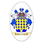 Chauvillon Sticker (Oval 50 pk)