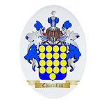 Chauvillon Ornament (Oval)