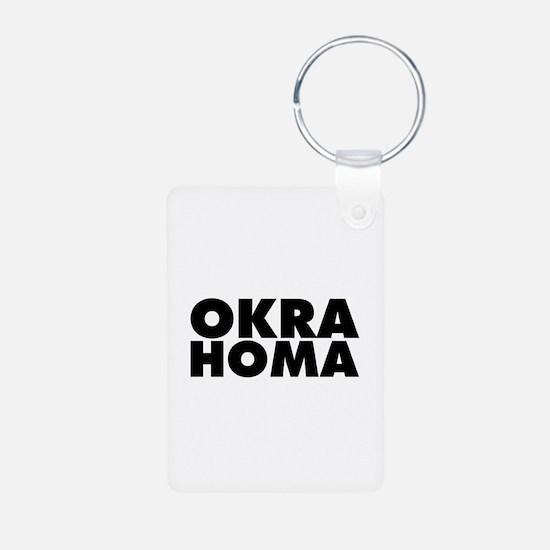 Okra Homa Keychains