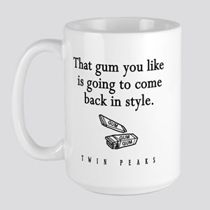 That Gum You Like Twin Peaks Quote Large Mug