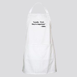 LOYALTY... Apron