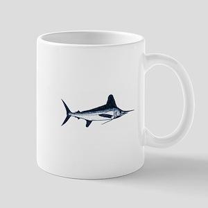 White Marlin Logo Mug