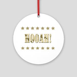 Hooah! Ornament (Round)