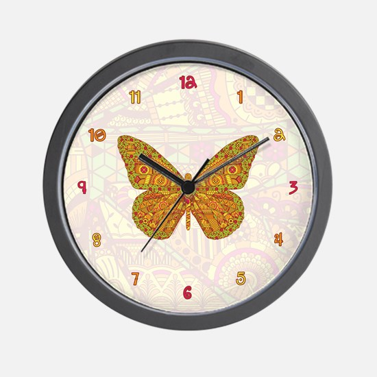 Indian Monarch Wall Clock