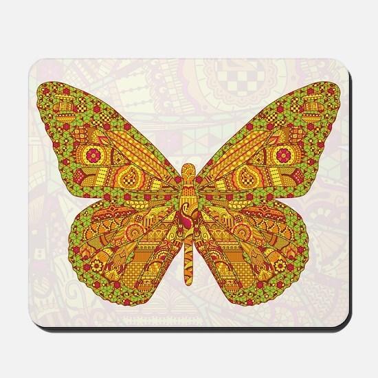 Indian Monarch Mousepad