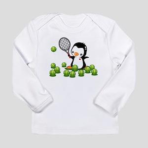 Tennis Penguin Long Sleeve Infant T-Shirt