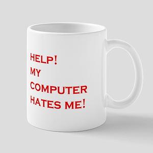 help computer hates me Mug