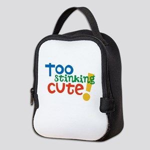 Too Stinking Cute! Neoprene Lunch Bag