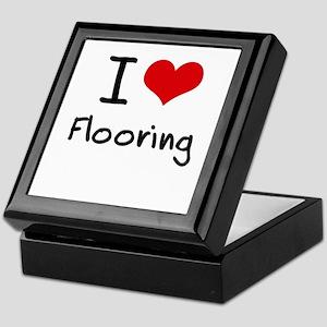 I Love Flooring Keepsake Box