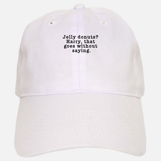 Jelly Donuts? Twin Peaks Quote Baseball Baseball Cap