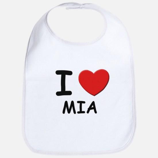 I love Mia Bib