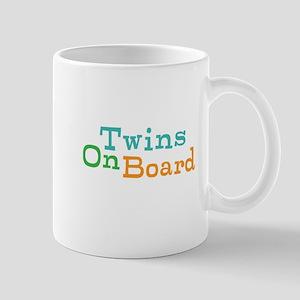 Twins On Board Mug