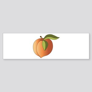 Peach Bumper Sticker