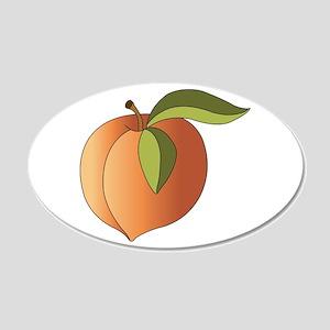Peach Wall Decal
