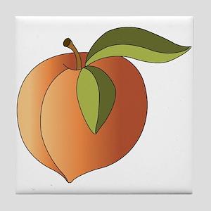 Peach Tile Coaster