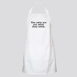 Classic Owls Riddle - Twin Peaks Apron