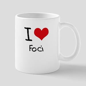 I Love Foci Mug
