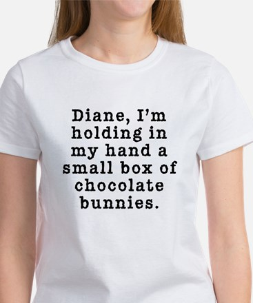 Twin Peaks Chocolate Bunnies Women's T-Shirt