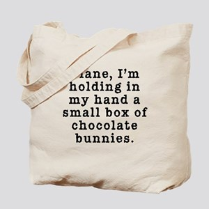 Twin Peaks Chocolate Bunnies Tote Bag