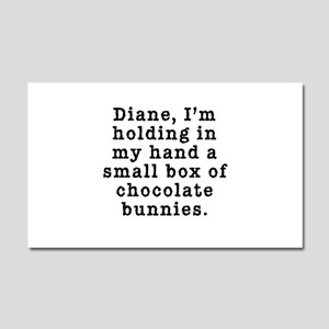 Twin Peaks Chocolate Bunnies Car Magnet 20 x 12