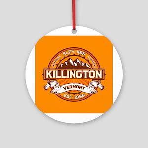 Killington Tangerine Ornament (Round)