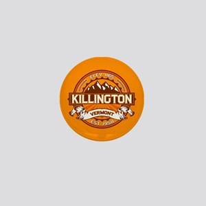 Killington Tangerine Mini Button