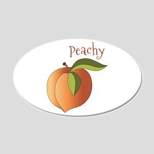 Peachy Wall Decal