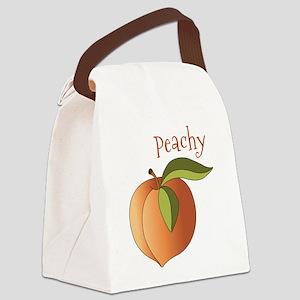 Peachy Canvas Lunch Bag
