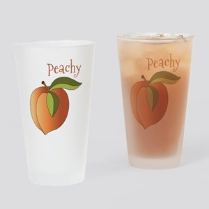 Peachy Drinking Glass