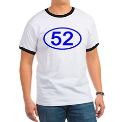 Number 52 Oval T