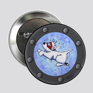 "Snorkel Westies 2.25"" Button"