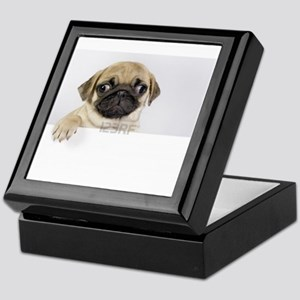 Pug t-shirt Keepsake Box