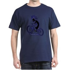 Kokopelli Mountain Biker Dark T-Shirt