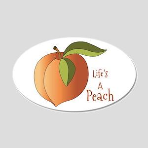 Lifes A Peach Wall Decal