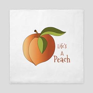 Lifes A Peach Queen Duvet