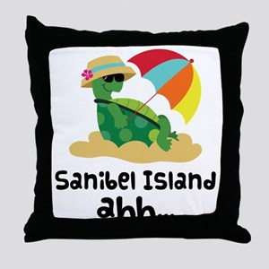 Sanibel Island Florida Throw Pillow