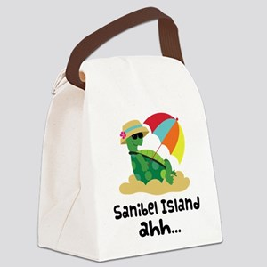 Sanibel Island Florida Canvas Lunch Bag