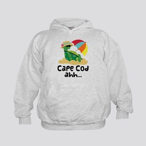 Cape Cod Massachusetts Kids Hoodie
