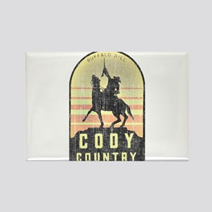Vintage Cody Country Rectangle Magnet