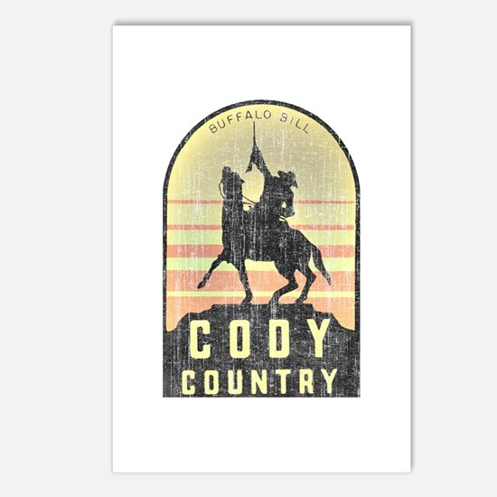 Vintage Cody Country Postcards (Package of 8)