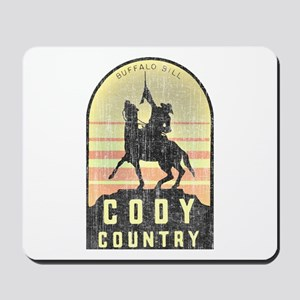 Vintage Cody Country Mousepad