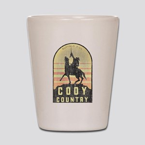Vintage Cody Country Shot Glass