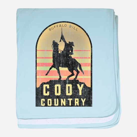 Vintage Cody Country baby blanket