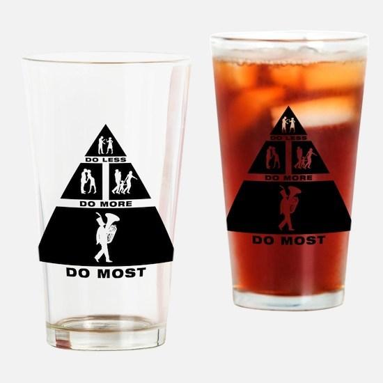 Tuba Player Drinking Glass
