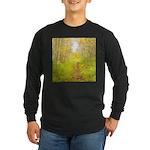 Aspen Trail Deer Long Sleeve Dark T-Shirt