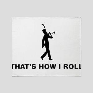 Trumpeter Throw Blanket