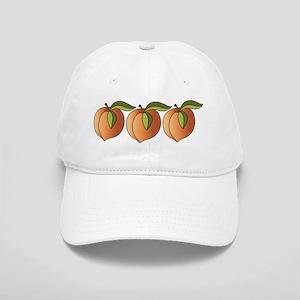 Row Of Peaches Baseball Cap