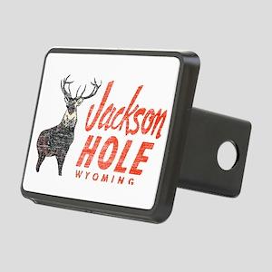 Vintage Jackson Hole Rectangular Hitch Cover