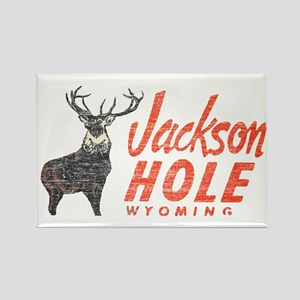 Vintage Jackson Hole Rectangle Magnet