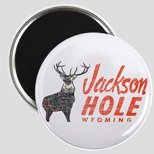Vintage Jackson Hole Magnet